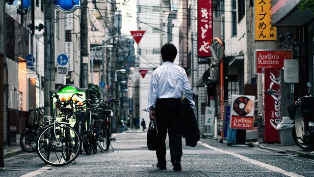 Japans sinkende Selbstmordrate