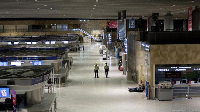 Übernachten im Flughafen Narita