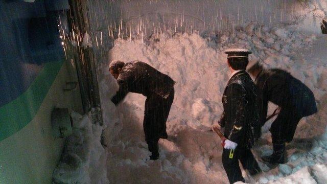 Japan versinkt im Schnee