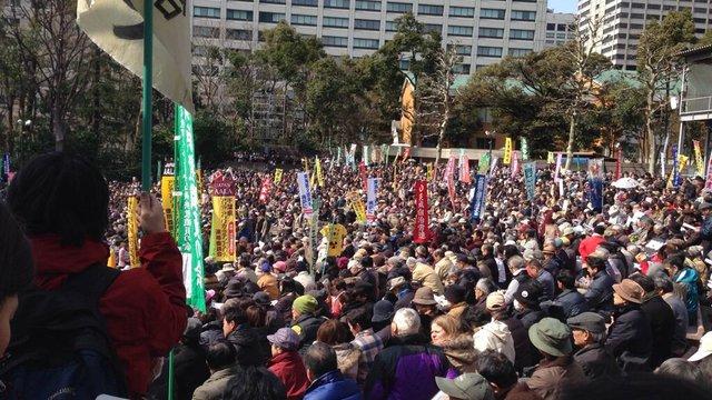 32'000 gegen Abes Atompolitik