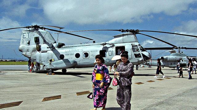 Okinawa und seine US-Soldaten