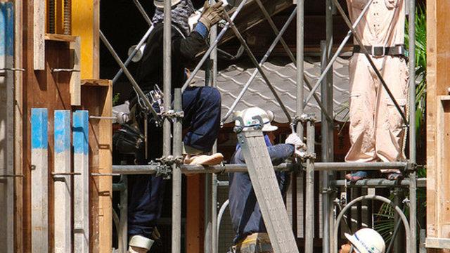 Ausländer für Japans Baustellen