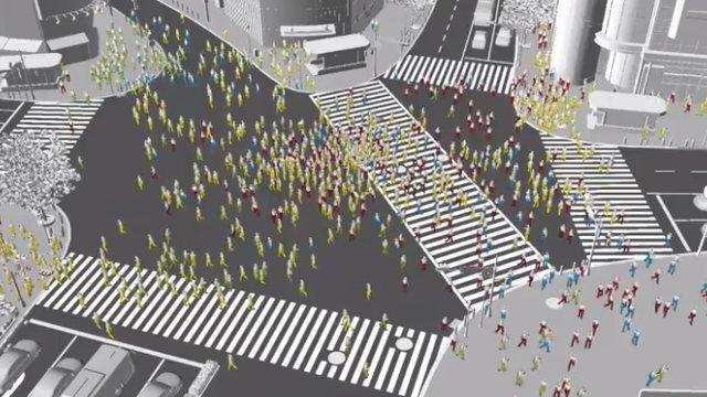 Der Shibuya-Crash-Test