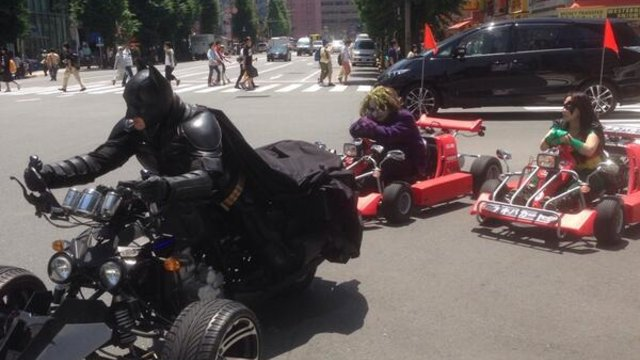 Batman in Akihabara