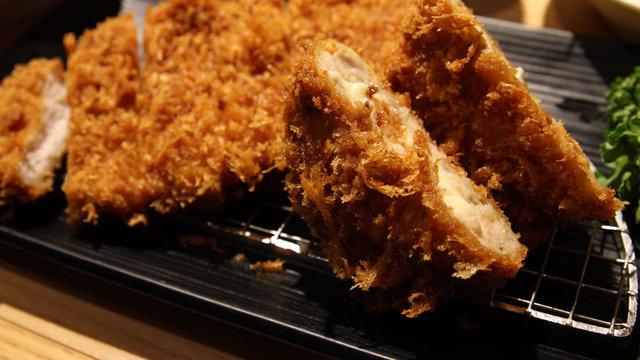 Das japanische Schnitzel