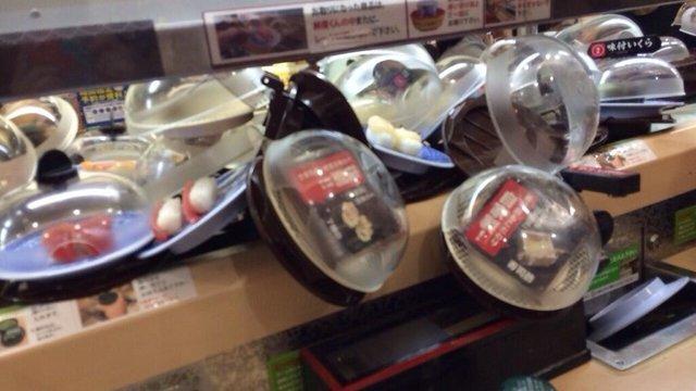 Die Sushi-Massenkarambolage
