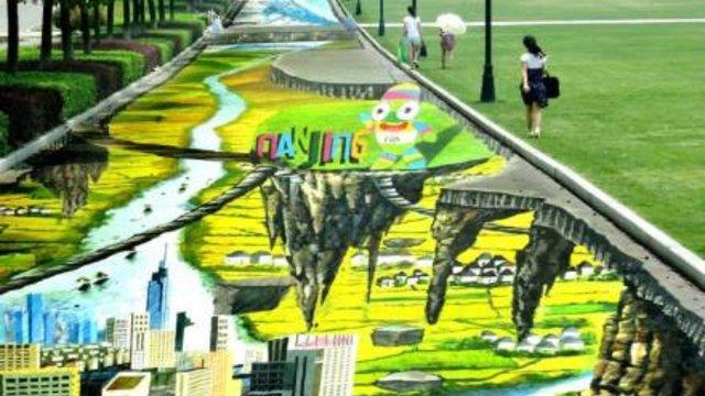 Ein 365 Meter langes Gemälde
