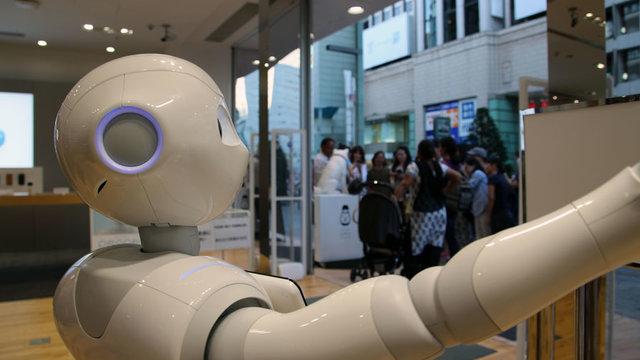 Roboter anstatt Einwanderer