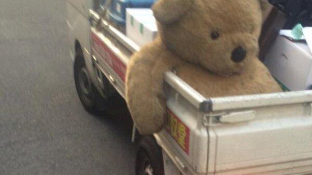 Wenn der Teddybär uns verlässt