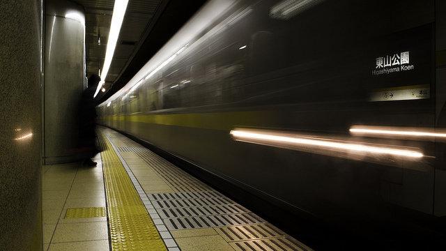 Die nächtliche Metro