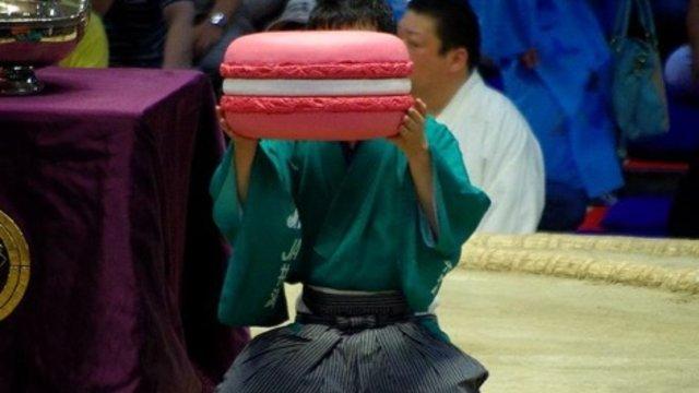 Ein gigantisches Macaron