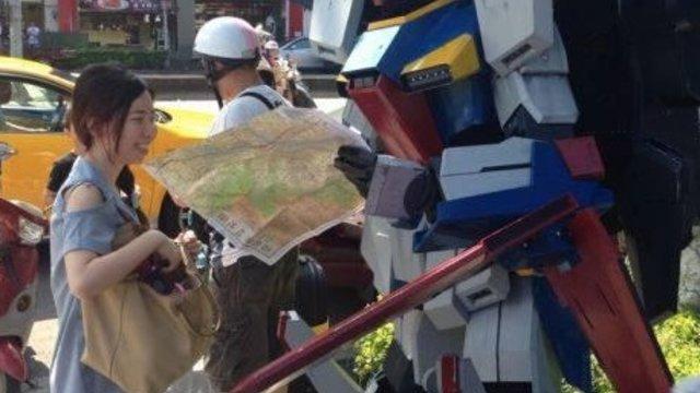 Gundam hat sich verirrt