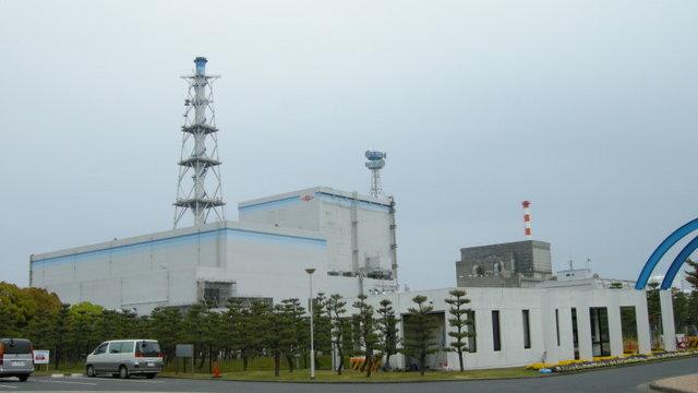 Das AKW unweit von Tokio