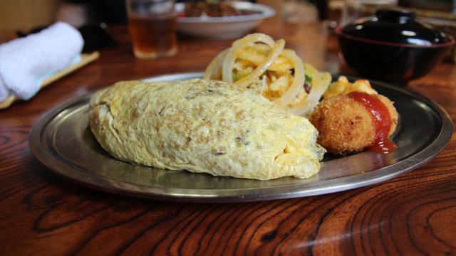 Die dicke Omelette