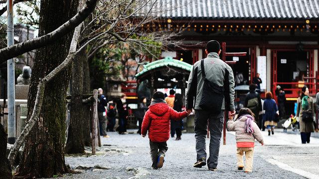Wo Japans Ehemänner zögern