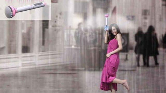 Der unsichtbare Regenschirm