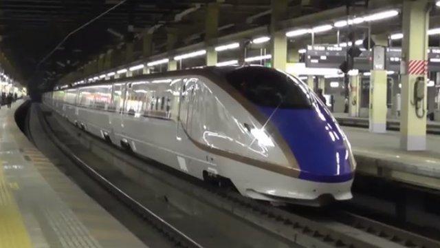 Shinkansen schlägt Flugzeug