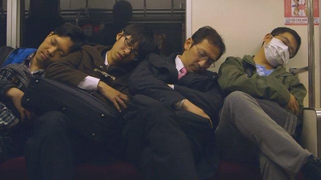 Ein Land schläft im Zug