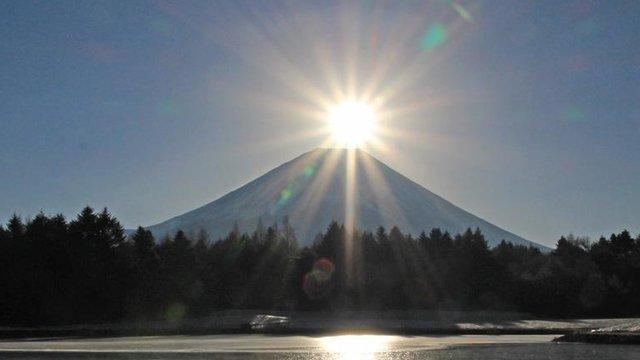 Der Diamanten-Fuji