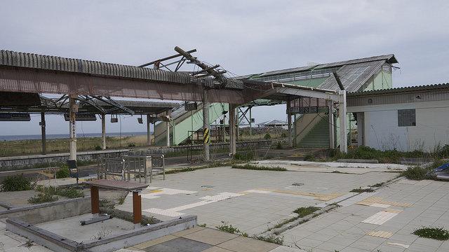 Der verlassene Bahnhof
