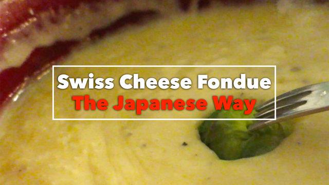 Käsefondue auf Japanisch