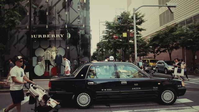 Englischsprachige Taxifahrer