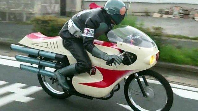 Kamen Rider ist unterwegs