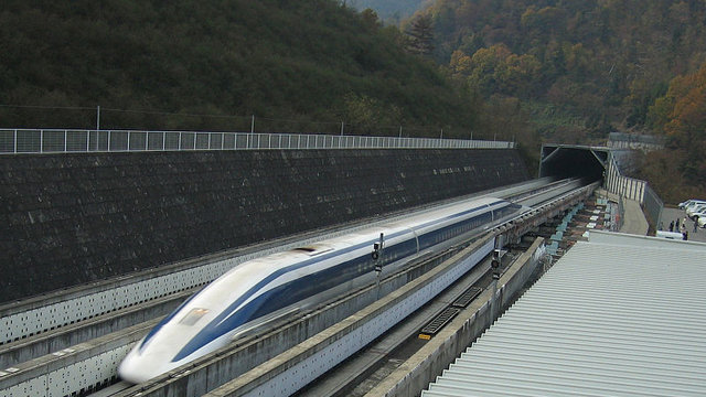 Mit 603km/h durch Japan