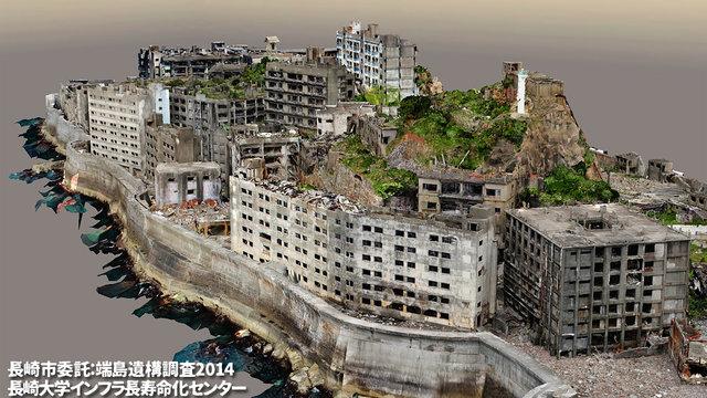 Die Schlachtschiffinsel in 3D