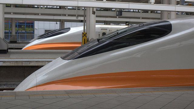 Ein Shinkansen im Ausland
