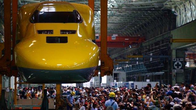 Der «fliegende» Shinkansen