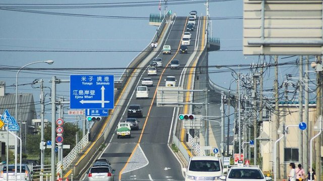 Die Achterbahn-Brücke