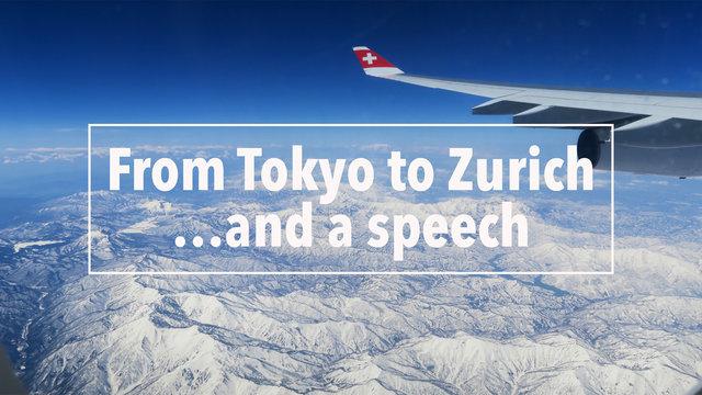 Von Tokio nach Zürich