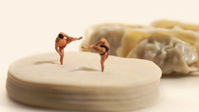 Die Miniaturwelt von Tatsuya Tanaka
