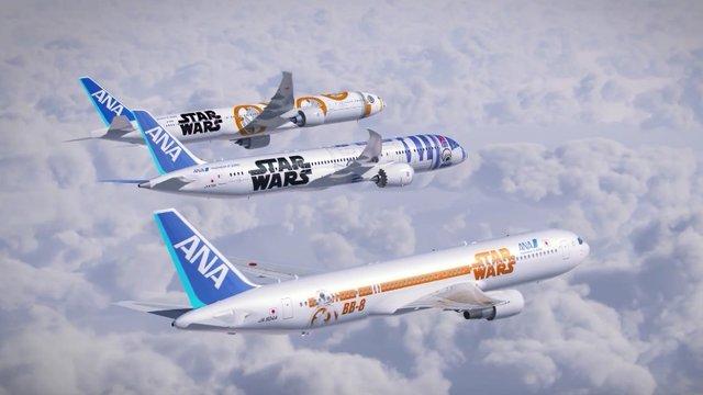Die Star-Wars-Flotte von ANA