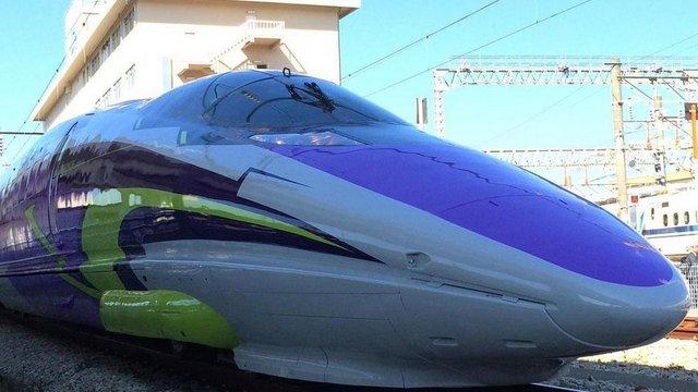 Der Evangelion-Shinkansen ist da