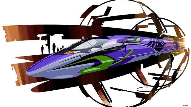 Der Evangelion-Shinkansen