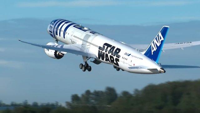 Der Star-Wars-Flieger hebt ab