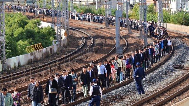 Die perfekte Zug-Evakuierung