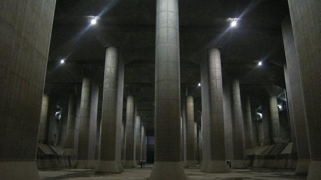 Tokios gigantische Untergrundhalle