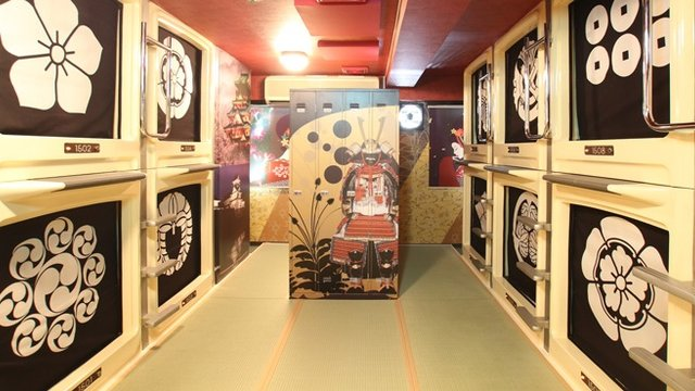 Das Otaku-Kapselhotel