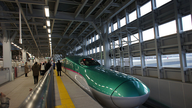 Shinkansen: Jede Minute zählt