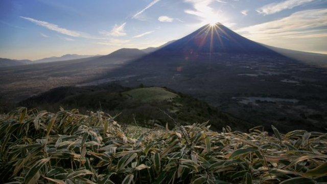 Der Diamant auf dem Fuji