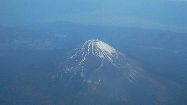 Schneemangel auf dem Fuji