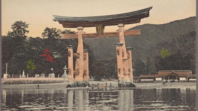 Das Postkarten-Japan von 1920