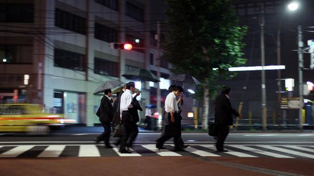 Der Arbeitstag eines Japaners