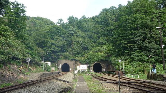 Der Bahnhof im Niemandsland