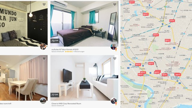 Japan ist Airbnb-Land