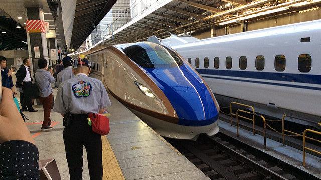 Die Magie des Shinkansens