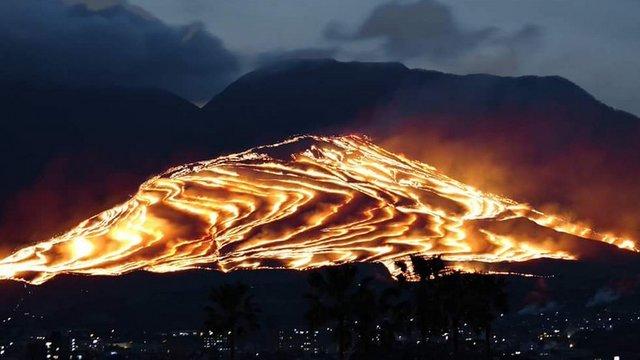 Das Feuerspektakel von Beppu